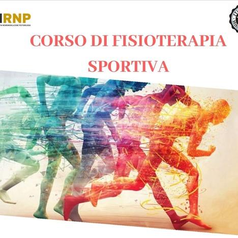 Corso di Fisioterapia Sportiva