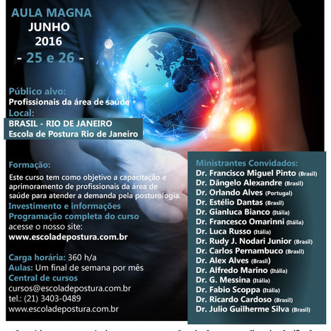 Master Internazionale di Posturologia Clinica