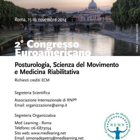 2° Congresso Euroamericano - Posturologia,  Scienza del Movimento e Medicina Riabilitativa