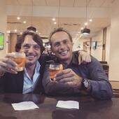Gianluca Bianco con Edsel Bittencourt