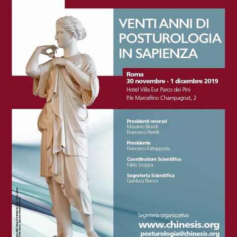 Venti anni di Posturologia in Sapienza