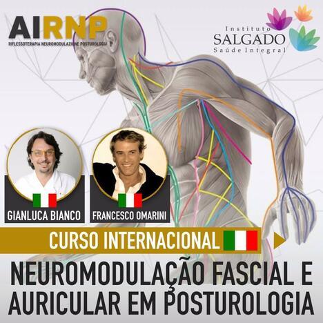Curso Internacional de Neuromodulaçao fascial e auricular em Posturologia