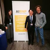 La dott.ssa Di Carlo ed il Dott. Cassiani Ingoni al Congresso con il Dott. Bianco