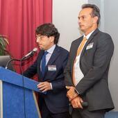 Il Dott. Bianco con il Dott. Bittencourt al Congresso per i Ventanni di Posturologia in Sapienza