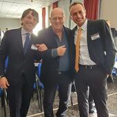 Il Dr Bianco con Antonio Tajana ed Edsel Bittencourt