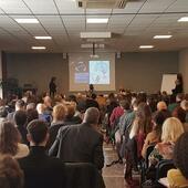 L'Aula alla celebrazione del Ventennale del Master in Posturologia in Sapienza