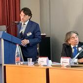 Il Dott. Bianco con il Prof. Fattapposta, Direttore del Master in Posturologia Sapienza di Roma